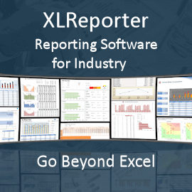 Picture of XLReporter - Reports and Dashboards for Industry